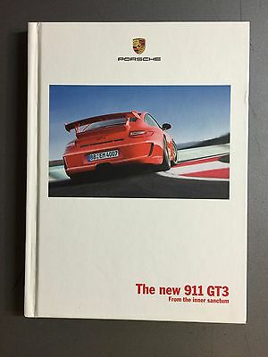 "2008 Porsche 911 GT2 /""GT2/"" Hardbound Sales Brochure English w RARE Aluminum Case"
