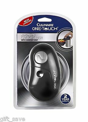 Culinare One Touch Automatic Can Opener Graphite Black New Improved