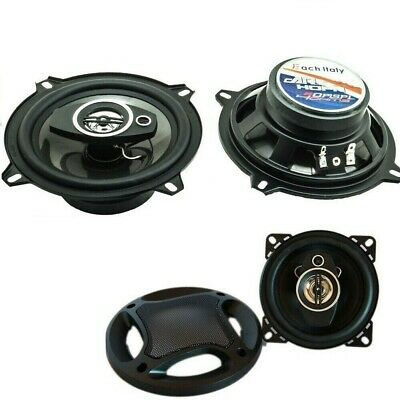 Coppia Altoparlanti Auto 16 Cm 3 Vie 400Watt Casse 400W Woofer Speaker