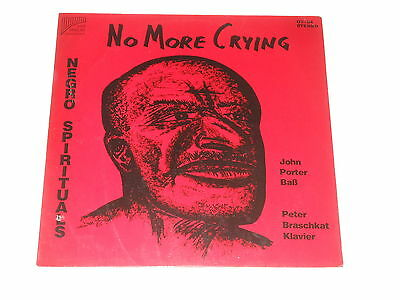 John Porter - LP - No More Crying - Negro Spirituals - Pan Verlag OV-84