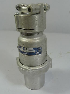 Crouse Hinds APJ6385 Arktite Connector 3Pole  USED