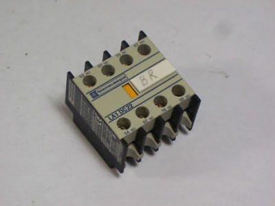 Telemecanique LA1-DN22 Auxiliary Contact 2NO/2NC  USED