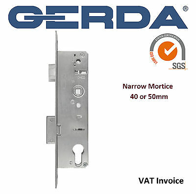 Gerda High Quality Narrow 40 or 50 mm Mortice Home Wooden PVC Door Lock ZW300