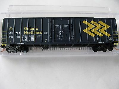 Micro-Trains #02700041 Ontario Northland 50' Rib Side Box Car N-Scale