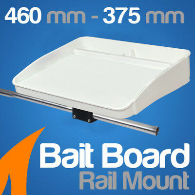 Bait Board Rail Mount Boat fishing cutting board