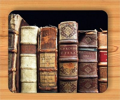 OLD BOOKS COLLECTION MOUSE PAD -hbn6Z