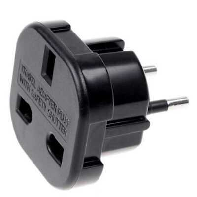 Reisestecker Steckdosenadapter AC Strom Adapter USA UK England > Deutschland EU
