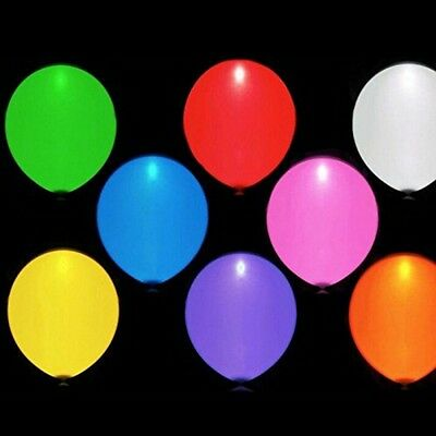 LED Light Balloon Party Wedding Baloons Decorations- Pack 5/10/15pcs