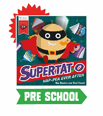 Supertato to the Rescue Hap-pea ever after Sue Hendra Paul Linnet World Book Day