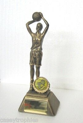 BASKETBALL TROPHY - FEMALE 20cm with FREE ENGRAVING !