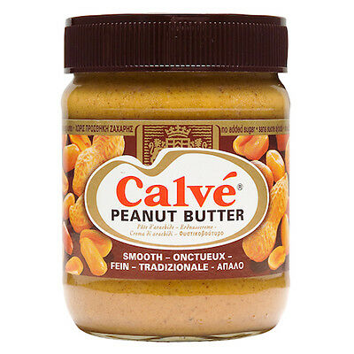Calve Smooth Peanut Butter Glass Jar 350g 12.4oz