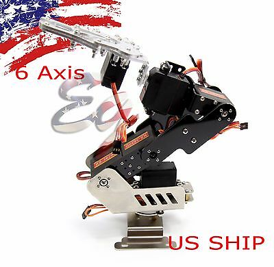 R4 DOF 6 Axis Mechanical Robotic kit Arm Clamp Claw Mount for Arduino, Raspberry