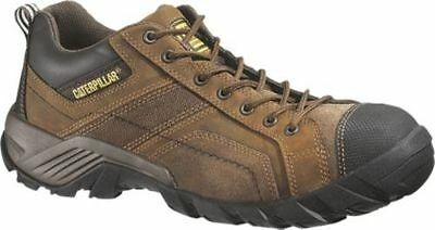 NEW Mens CAT FOOTWEAR Dark Brown ARGON Work Shoes P73706