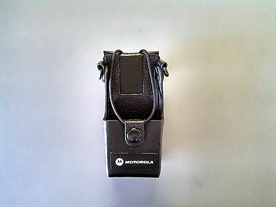 Motorola Cp200 Cp185 Cp150 Cp110 Leather Case Rln5383