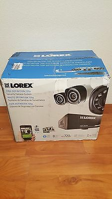 Lorex 8 Channel 720p HD Security System w/ 1TB HDD and 8 720p Cameras LHD818