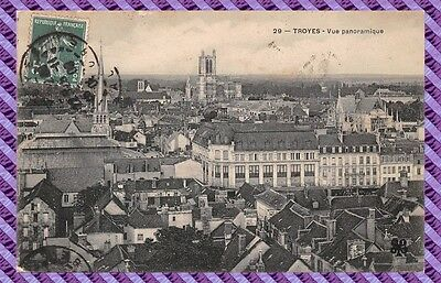 Carte Postale - TROYES - Vue Panoramique