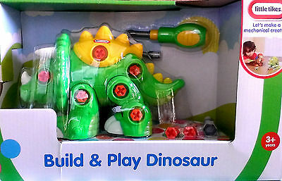 Little Tikes Build & Play GREEN Dinosaur - BOXED!! - ** GREAT TOY/GIFT **