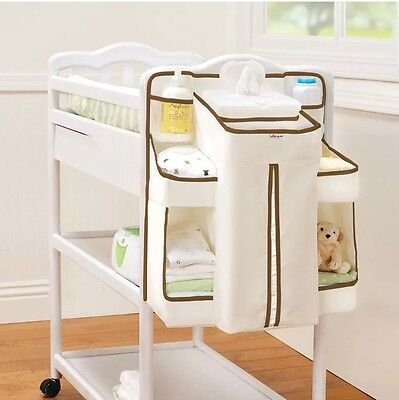 Nappy Change Table Organiser Munchkin Baby Bag, Easy Hanging, Holds 50 Nappies