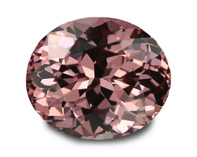 3.11 Carats Natural Malaya Garnet Loose Gemstone- Oval