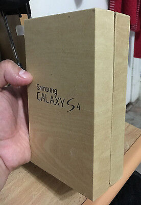 Samsung Galaxy S4 Empty Box Only Very Good Condition