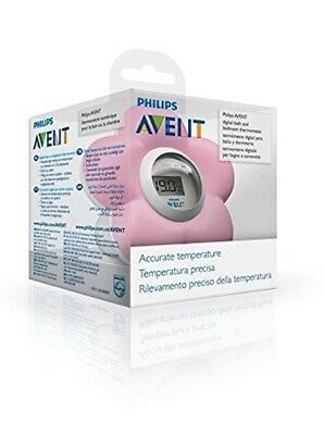 Baby Bath And Room Thermometer Pink Philips AVENT Room And Bath Temperature Pink