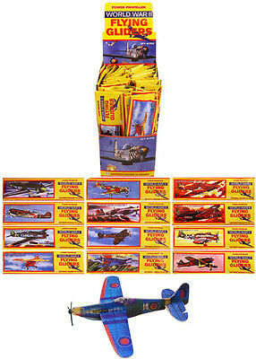 12 Flying Gliders Kids Toys, Party Loot Bags Pinata Fillers Childrens Presents