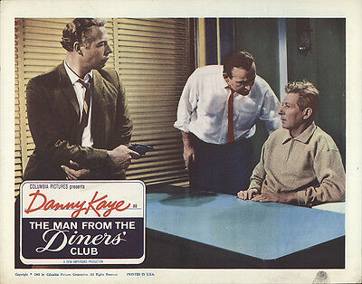 The Man From the Diners' Club 1963 Original Movie Poster Comedy