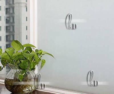 90cm x3m Static Cling Sandblast Frosted Removable Privacy Window Glass Film S001