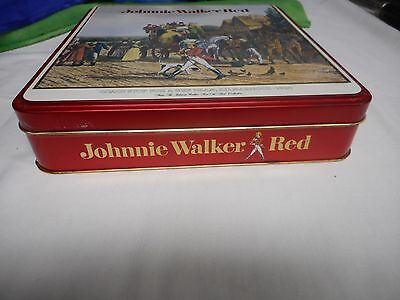 "Vintage ""johnnie Walker Red"" Whiskey Tin (Pre-Owned) (No Alcohol)"