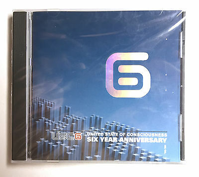 New - United State Of Consciousness 6 House Techno Drum & Bass Dance Edm Cd 2002