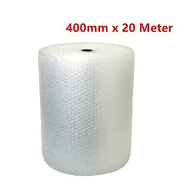 Bubble Wrap 400mm x 20 Meter White Clear Bubblewrap Protective Packaging