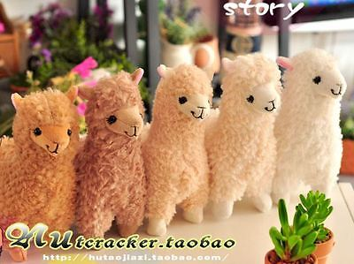 Japan Amuse Alpacasso Alpaca Arpakasso Llama Vicuna Soft Stuffed Plush Doll Toy