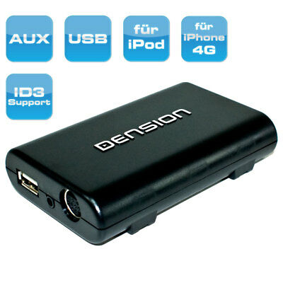 iPod iPhone 4S USB AUX interface for Opel Radio CD 30 MP3 | DVD 100 Navi