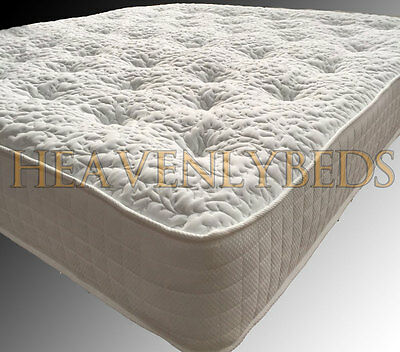 3000 Tufted Pocket Sprung Mattress Luxury 4Ft6 Double 5Ft King Size Orthopedic