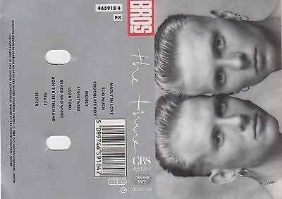 BROS The Time MC Tape MUSIKKASSETTE 1989 CBS UK 465918 4 Made in Holland