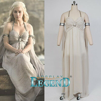 Custom Made Game of Thrones Daenerys Targaryen Khaleesi Daenerys Wedding Dress F