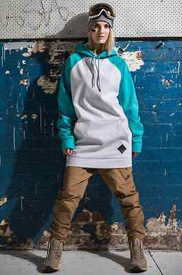 Moo Lab The Brixton Unisex Tall Hoodie - 5K Waterproof - Snow Ski Snowboarding