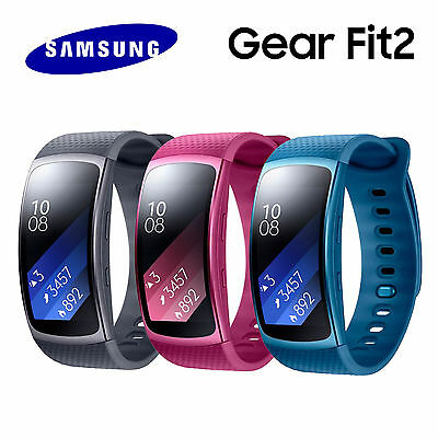 Samsung Gear Fit2 SM-R360 GPS Sports Band Fitness Watch Activity Tracker