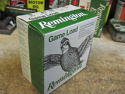 REMINGTON GAME LOADS empty 12 GA 7 1/2  SHOTGUN SHELL box ORIGINAL QUAIL DOVE