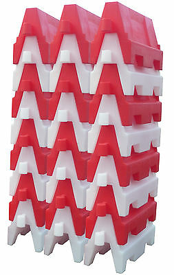 Evo 80 Safety Barrier 1.2mtr Sections  12 Pieces Road Safety Control
