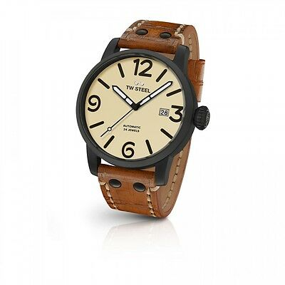 TW Steel Men`s Watch MS46 Automatic 24Jewels Maverick Collection 48mm