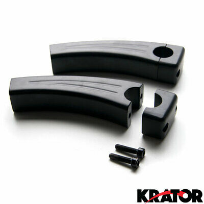"5.5"" Black Motorcycle Cruiser Bike Handlebar Pullback Risers (For 1"" Inch Bars)"