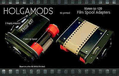 35mm to 120 Film Camera and Holga 120 Adapter Set