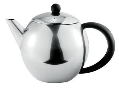 Benzer - Como Polished Steel Tea Pot 1Ltr 6 Cup