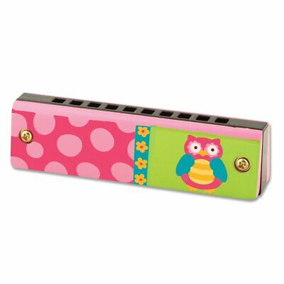 NEW Stephen Joseph Children's Owl Harmonica musical Instrument Kids Mouth Organ