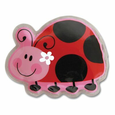 NEW Stephen Joseph Lady Bug Freezer Friend Kids Ice Cold Pack Lunch Box Cooler