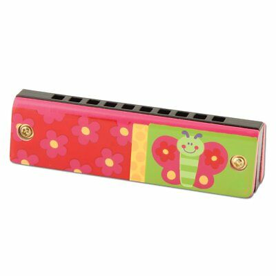 NEW Stephen Joseph Children's Butterfly Harmonica Musical Instrument Kids Mou...
