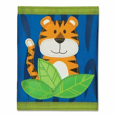 NEW Stephen Joseph Children's Tiger Wallet Boy Kids Coin Money Purse