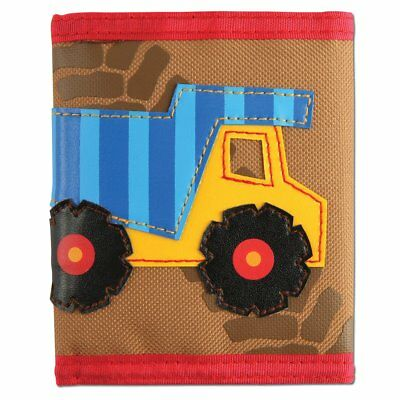 NEW Stephen Joseph Children's Construction Wallet Boy Kids
