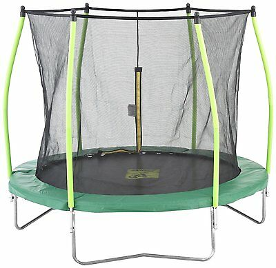 TP 8ft ZOOMEE TRAMPOLINE WITH ENCLOSURE Brand New